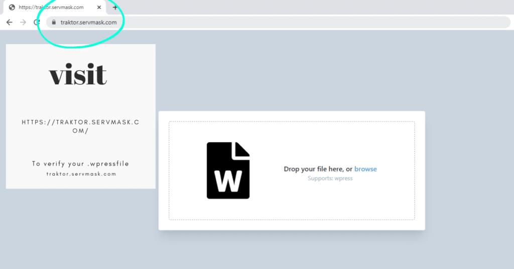 verify your .wpress export file here